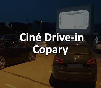 Ciné drive-in en Copary