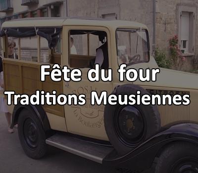 Fête du four, Traditions Meusiennes