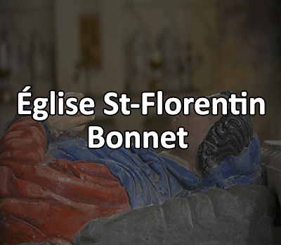 Église Saint Florentin, Bonnet