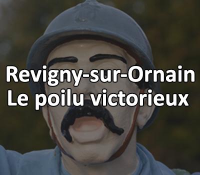 Le Poilu Victorieux, Revigny sur Ornain
